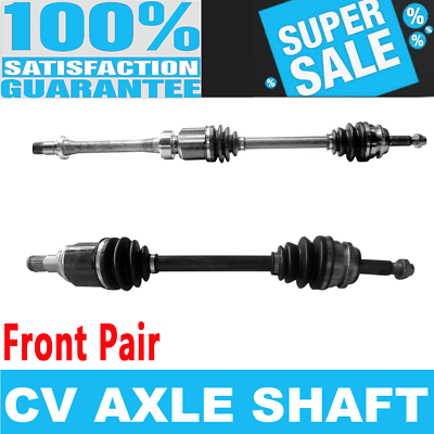 Pair Front CV Axle Joint Assembly For Toyota Camry Standard Trans 2.4L I4 02-06