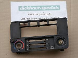 BMW-E30-Blende-Radio-Radioschacht-Heizung-Frontplatte