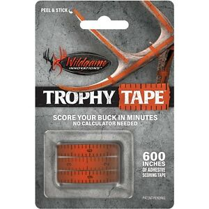 "New Wildgame Innovations Trophy Tape Rack Scoring (3) 200"" Rolls"