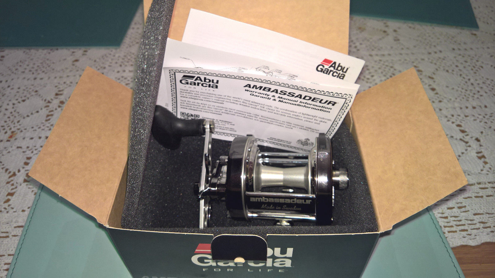 Brand New Abu Garcia Garcia Garcia 6500 C3 CT Mag / Sea Fishing Multiplier Reel / 1130033 33ea75