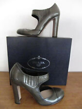 "Prada Oracle Brush 5"" Mary Jane pump SZ 40.5"