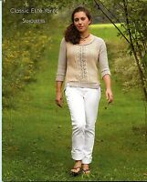 Silhouettes - Cey 1404 Classic Elite Yarns Knitting Pattern Book - 9 Designs