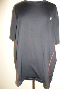 FILA-SPORT-Black-Performance-Workout-T-Shirt-Top-Tee-SZ-L