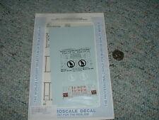 Microscale decals N 60-511 50' airslide hoppers Burl. GN NP  D55