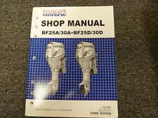 honda bf25 bf30 marine outboard service repair shop manual ebay rh ebay com honda bf25 service manual pdf