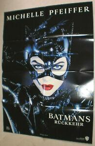 A1-FILMPLAKAT-BATMANS-RUCKKEHR-Danny-De-Vito-Michelle-Pfeiffer-Michael-Keaton-3