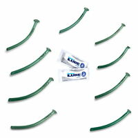 Nasopharyngeal Airway Respiration Tubes Completed -pack With Lube 2.7g, 18 Units