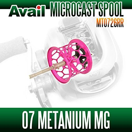 Avail SHIMANO Spool MT0726RR Rosa for Core100Mg, CHRONARCH D, 07 Mg Metanium Mg 07 5ea869