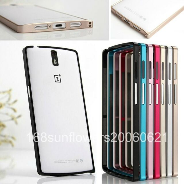 For OnePlus One Aluminum Metal Protective Bumper Frame Hard Case Cover