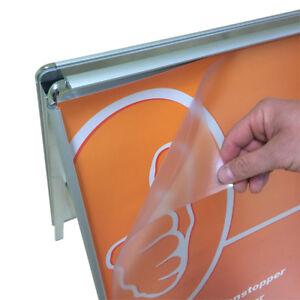 HonnêTe Remplacement Film Clients Butées Din A1 - 4 Pièces De Rechange Antiréflectives Diapositives-afficher Le Titre D'origine