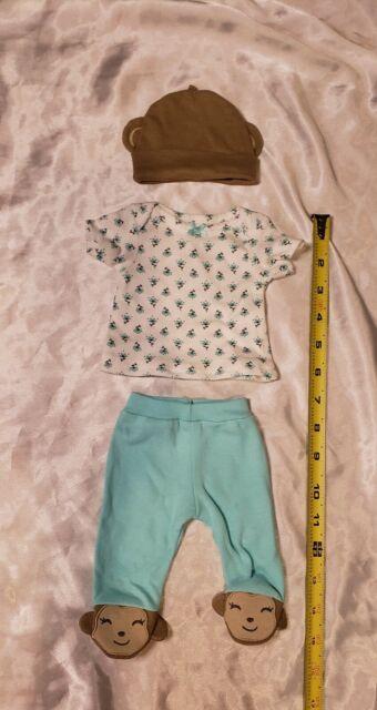 Mini Reborn Baby Doll Clothes Micro Preemie Ooak Art Doll ...