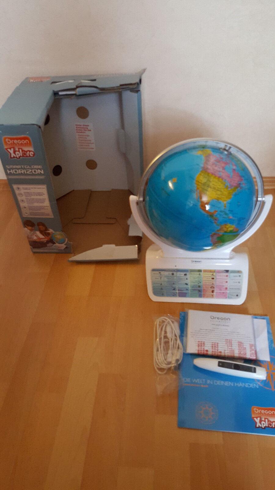 Oregon Scientific Xplore SmartGlobe  - mit Stift - neuwertig