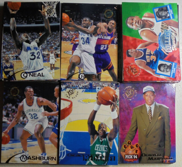 1994-95 Topps Stadium club Basketball Series 1  Complete Set (#1 - 185)