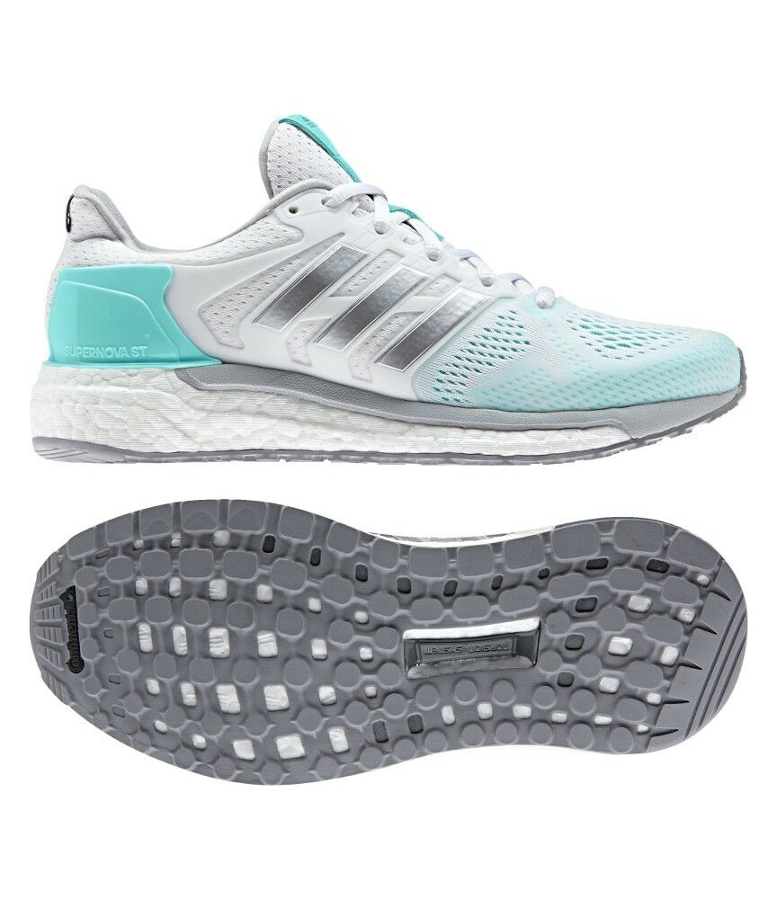 Womens ADIDAS SUPERNOVA ST Running shoes White Sneakers Adidas Boost NEW
