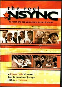 NSYNC-THE-REAL-DVD-NEW-SEALED