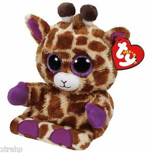 Ty Jesse Giraffe Peek-A-Boo Phone Holder/Screen Cleaner TY 3+, Boys & Girls