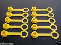 10 Yellow Chilton Rear Vent Cap Replacemnt Sears Craftsman Gas Can Fuel Jug Plug