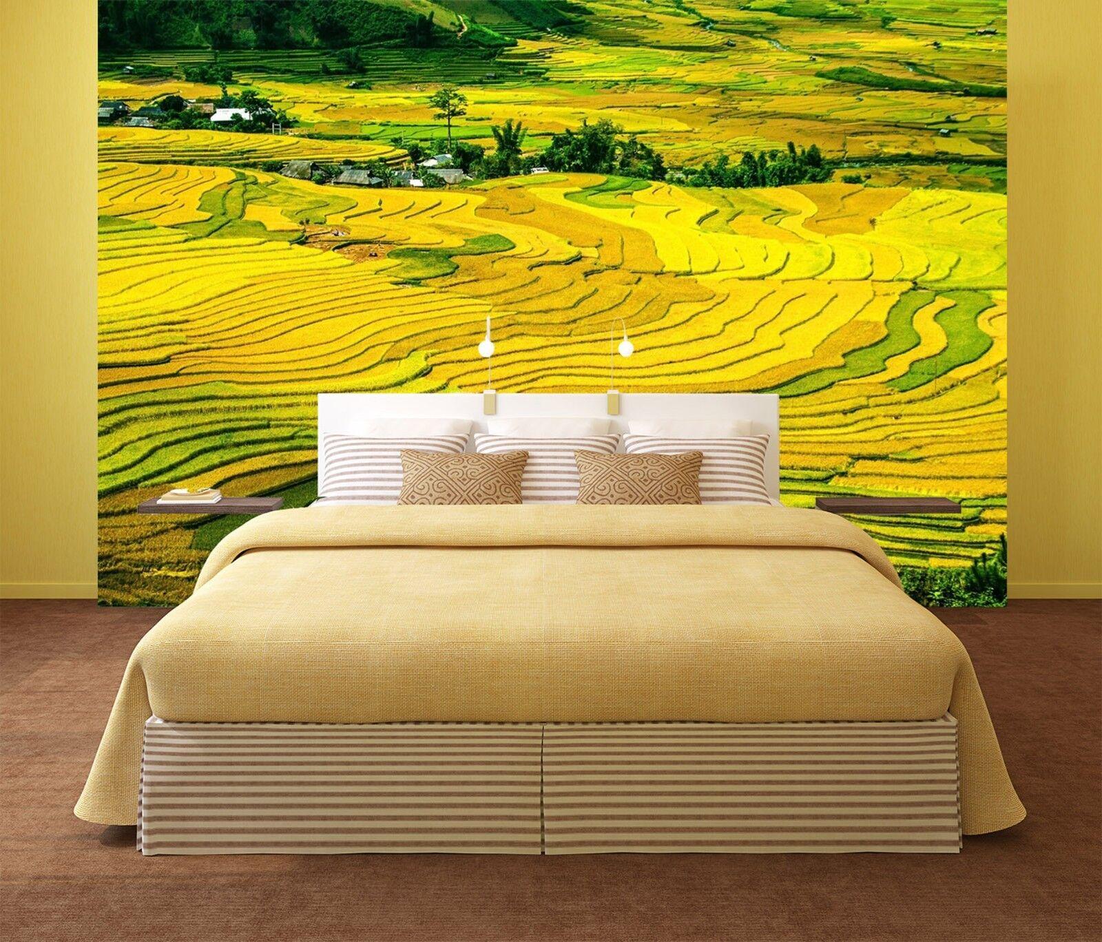 3D Natürliche Terrassen 7883 Tapete Wandgemälde Tapeten Tapeten Tapeten Bild Familie DE Lemon | Feinen Qualität  | Schenken Sie Ihrem Kind eine glückliche Kindheit  |  6a4f7f