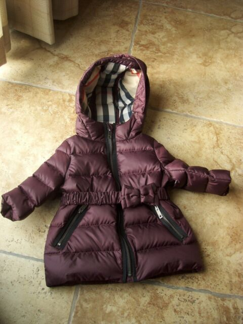 6f5e68365 Burberry Down Puffer Jacket (baby Girls) 6m