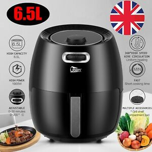 Pro 5L Digital Air Fryer 1500W Power Oven Cooker Oil Free Healthy Frying Chips