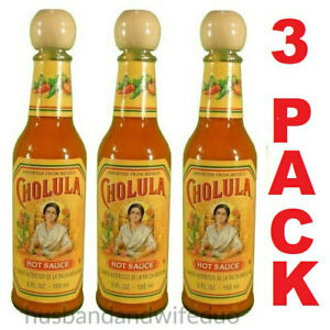 Details About 3 Bottles Cholula Hot Sauce Original 5 Fl Oz Imported From Mexico Free Shipping