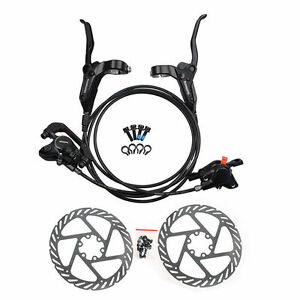 Shimano BR BL M315 Hydraulic Disc Brake Set Pre-Filled With G2 160mm Rotors