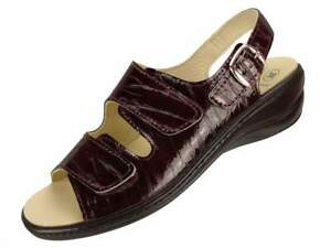 Leder Pantolette Fußbett Sandalen METALLIC RoséGold Weiches