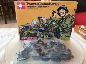 Rarissimi Atlantic Soldatini PanzerGrenadieren Eserciti 2 guerra mondiale  30-45