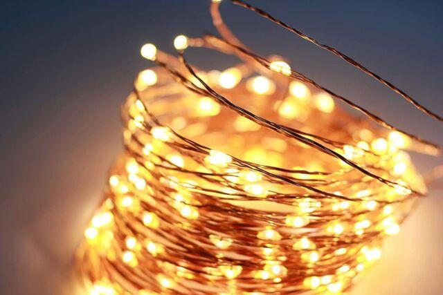 Led String Lights Aoruide 66ft 200leds Waterproof Fairy Decorative Lights For For Sale Online Ebay