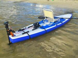 2d9425a4b6f5 Image is loading Inflatable-Motorized-Fishing-Platform-Paddle-Board-Surf- Board-