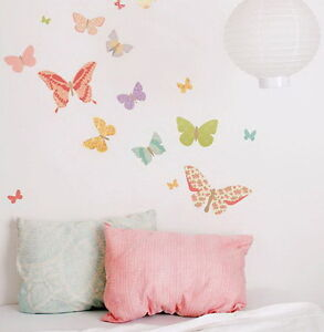 25-Floral-Butterfly-Wall-Art-Decal-Stickers-Modern-Home-Decor-Mural-Removable