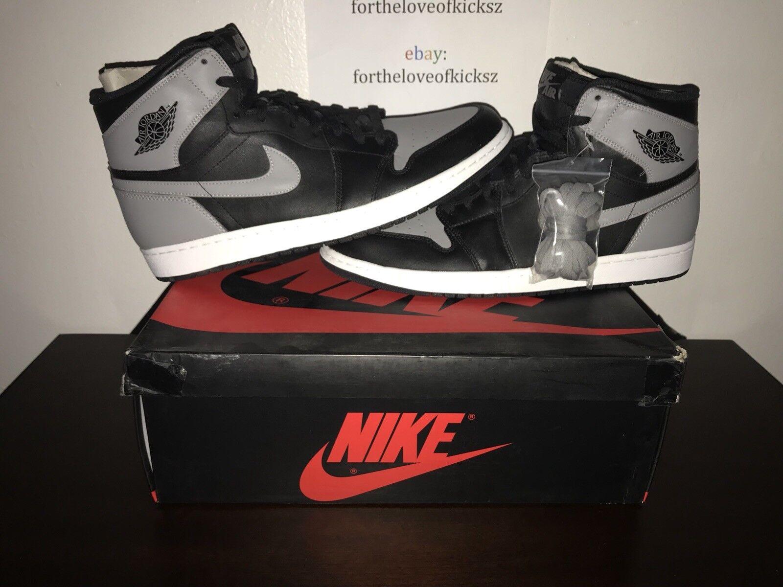 "Air Jordan 1 Retro High OG ""Shadow Grey"" (2013)"
