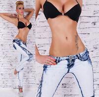 New Sexy Women's Light Blue Jeans Slim Style Skinny Jeans UK size 8-14