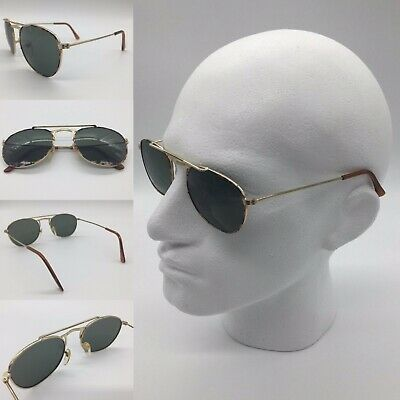 Men/'s 2020 Reclaimed Vintage Gold Brow Bar Tinted Lenses Pilot Sunglasses UV 400