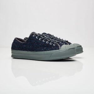 d3c016b682e Converse Jack Purcell Signature OX 156175C Navy Men Sizes NEW 100 ...