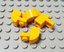 LEGO New Friends City Bright Light Orange Minifigure Rose Flower Petal