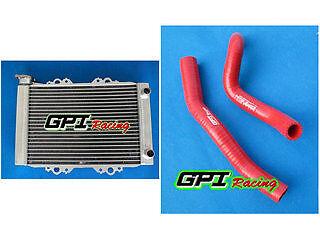 radiator+red hose Kawasaki KFX450 KFX450R 2008-2012 08 09 10 11 12 2009 2010