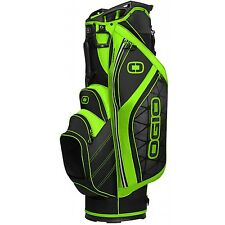 OGIO Golf 2016 Cirrus Cart Bag Green 14 Way Divided Top Divided NEW