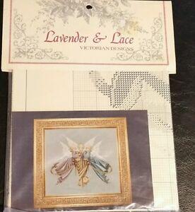 Lavender-amp-Lace-Heavenly-Gifts-L17-Cross-Stitch-Pattern-1992-Marilyn-Leavitt