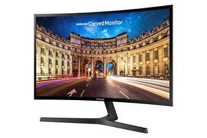 """Samsung Curved Monitor C27F396FH LED-Display 68,58 cm (27"""") schwarz-glänzend"""