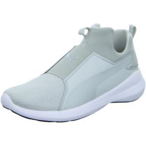 Sneaker Mid Grau Schuhe Puma Rebel 38 Damen Sportschuhe Gr R28 5 q8w5Of
