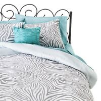 Xhilaration™ Zebra Reversible Bed In A Bag - Gray