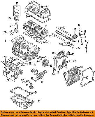 MINI OEM 02-06 Cooper-Engine Crankshaft Crank Seal 11111492244 | eBayeBay