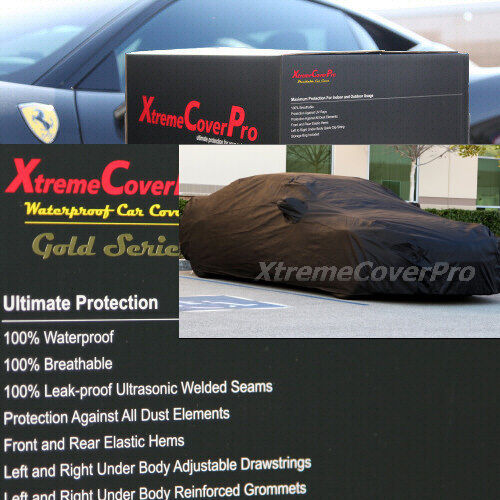 2007 2008 2009 2010 2011 AUDI A5 S5 RS5 WATERPROOF CAR COVER W//MIRRORPOCKET BLK