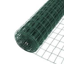5 X 50 Ft Vinyl Galvanized Welded Mesh Wire 16 Gauge Pvc Coated Garden Fencing