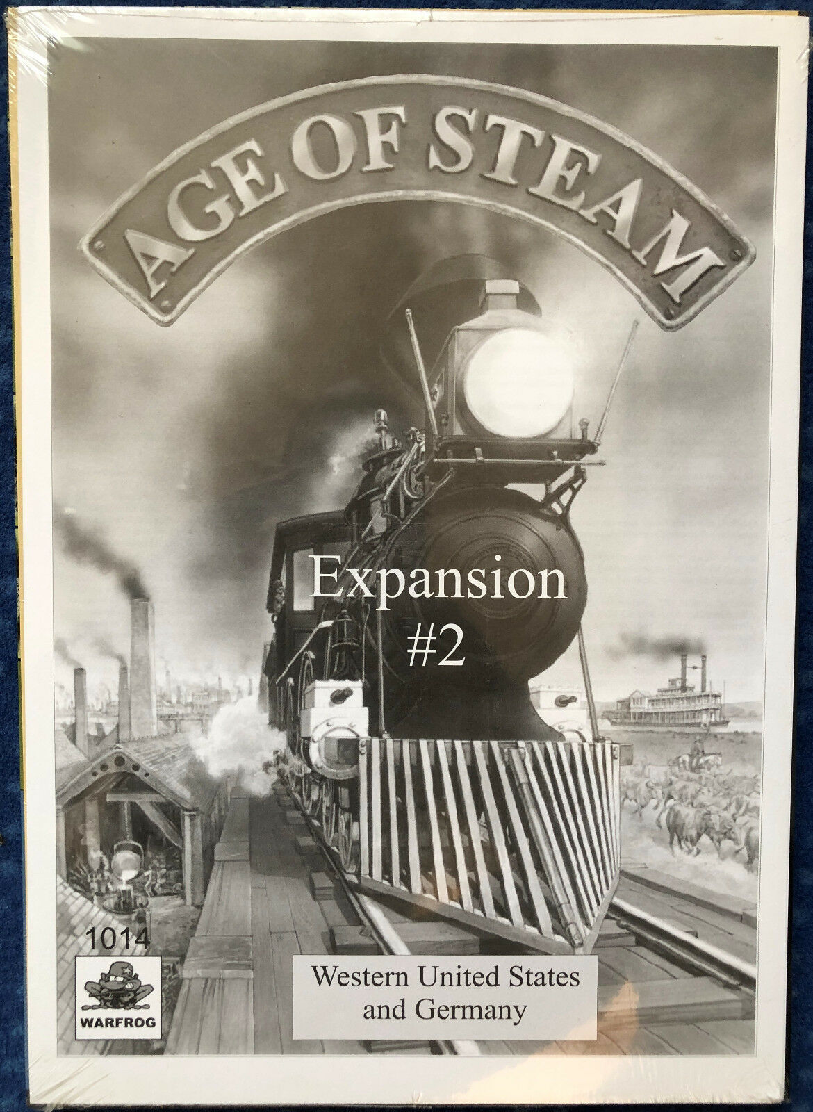 Age of Steam Expansion  2 – Western United States and Germany – Warfrog