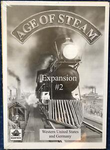 Age Of Steam Expansion # 2 - L'ouest des États-Unis et l'Allemagne Warfrog