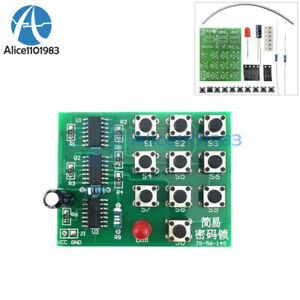 Multi-Functional Simple Electronic Password Lock Circuit Learning ...