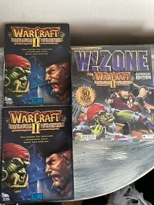 W!Zone For Warcraft II: Tides Of Darkness(PC CD-ROM) Authorized Edition Rare!!