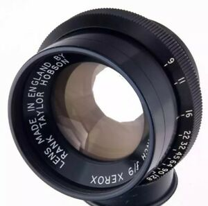 Taylor-Hobson-10-16-inch-f-9-lens-copying-Xerox
